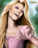 Rapunzel by B2DaRice