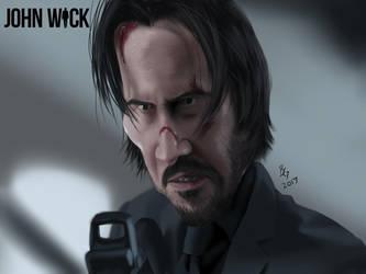 John Wick by B2DaRice