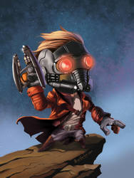 Also known as... Star Lord by B2DaRice