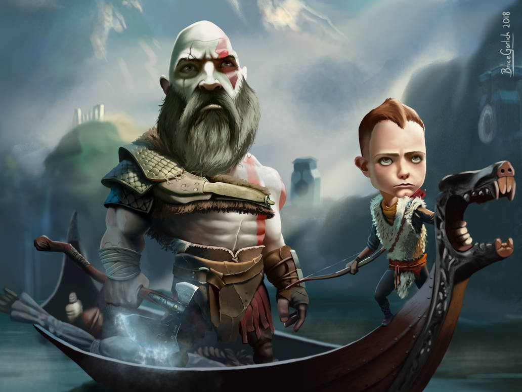 Kratos and the BOI! by B2DaRice