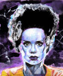 Bride of Frankenstein - Universal Monsters #5 by smjblessing