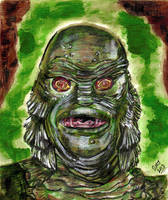 Creature From The Black Lagoon - Universal Mon. #7 by smjblessing