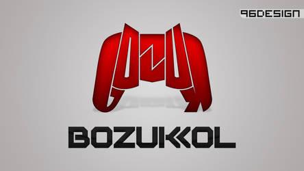 BOZUKKOL logotype by 96design