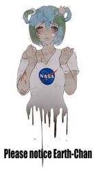 Earth Chan Notice Me by kotorikurama