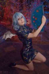 TP EoSD: Remilia Scarlet qipao IV by MartinaEdelstein