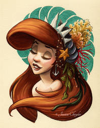 Tribal Princess Ariel by jesschrysler