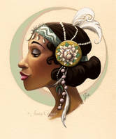 Tribal Princess Tiana by jesschrysler