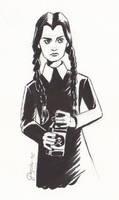 Wednesday Addams by jesschrysler
