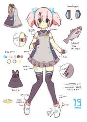 UTAU Concept: Nanami Yano by miolet