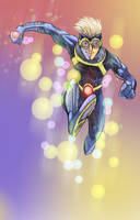 Speedball - Costume Redesign by facelesscow