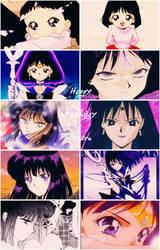 Happy Birthday Sailor Saturn by Before-I-Sleep