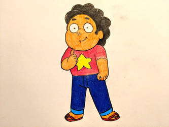 Inktober Day 2 - Steven Universe by Before-I-Sleep