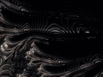 Xenomorph Hive by Obnad