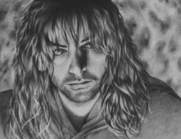 Kili, son of Aragorn and Legolas by Skiofit