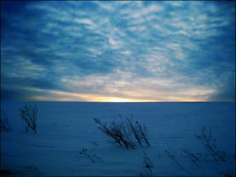 Frozen Blue by HIMish