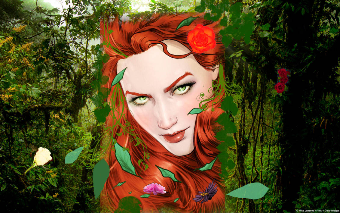 Poison ivy wallpaper by Rhalath