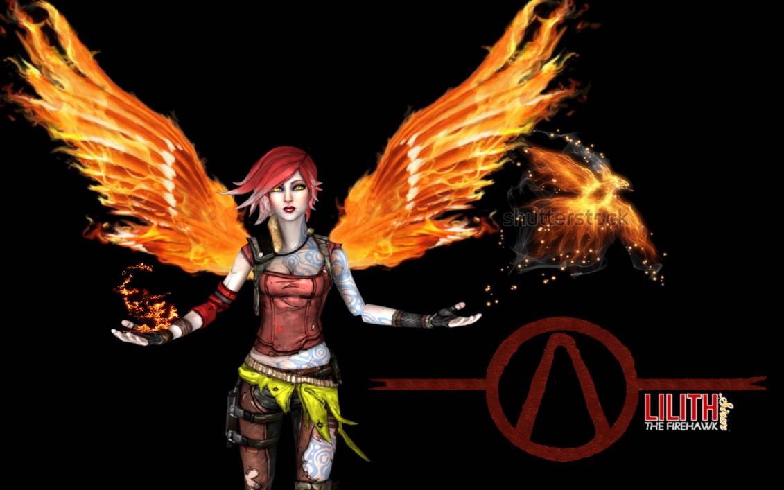 Lilith the Firehawk - Borderlands 2 by Sciamano240 on ...  |Borderlands 2 Wallpaper Lilith