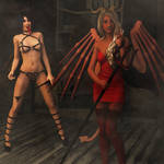 You have been very naughty... by Dracis3D