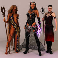 The Imperial Mages by Dracis3D