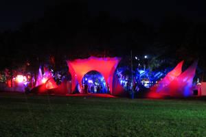 Pukkelpop tents by MysteriousMaemi