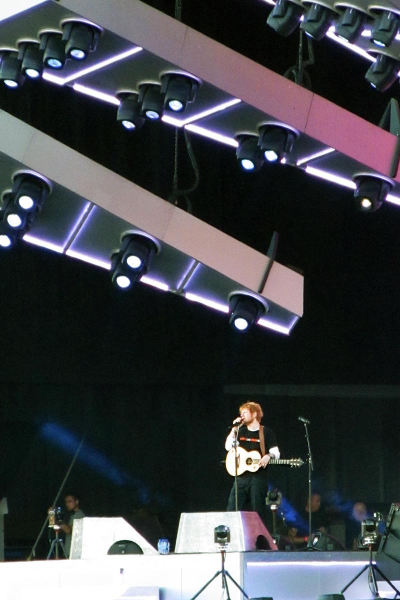 Ed Sheeran 01JUL18 by MysteriousMaemi