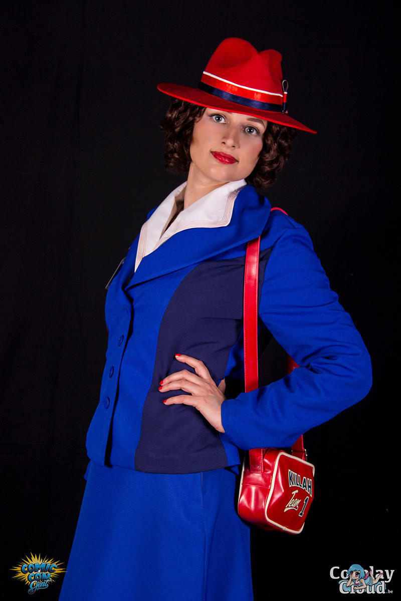 Agent Peggy Carter by MysteriousMaemi