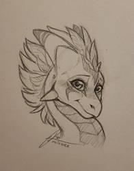 Blushy Sketchy Mina by Minerea