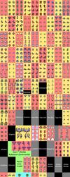 Gen 7 (Alola) Pokemon Overworld Sprites by Swdfm