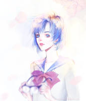 Amy- Sailor Moon Crystal by waywardgal
