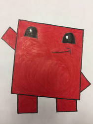 Super Meat Boy by EmeraldXLapis