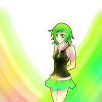 green girl xD by SarahWidiyanti