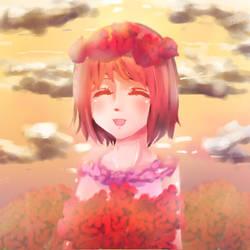 cute bride by SarahWidiyanti