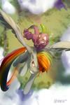 Dragon Bucking by Noben
