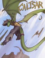 Caltsar in Flight by Noben