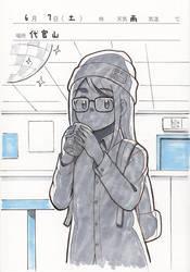 Glasses girl in Daikanyama by aragon-11