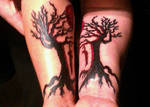 Marriage Tree Tattoo: Update by EuphoriouSin