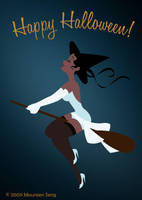 Halloween Tiana by kittifiedmeow