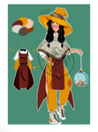 ADOPTABLE AUCTION: DANCER WITCH [OPEN] by Zilantro