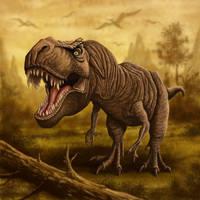 Tyrannosaurus Rex by ravenscar45