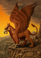 Gryphon by ravenscar45