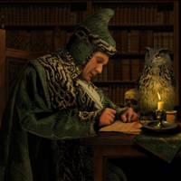 Arcane Writing by ravenscar45
