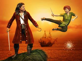 Peter Pan by ravenscar45