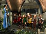 Seven Dwarfs by ravenscar45