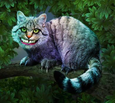 Cheshire Cat by ravenscar45