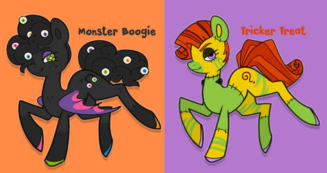 Spooky Pony Adopts CLOSED by CrayonKat