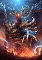 Dragon by Ze-l