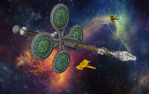 Star Frontiers - Agriculture Ship by Shadowstate