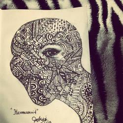 Humanoid by Sashajalal