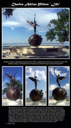 Life by C. Adrian Pillars by beachelf