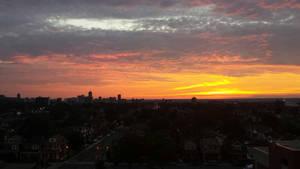 sunset  by makaylapyle